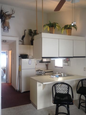 Kitchen - includes dishwasher, small appliances, dishes and flatware