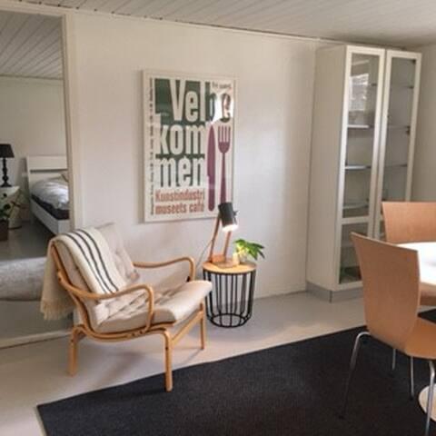 Hyggelig kælderlejlighed - Aalborg - Apartamento