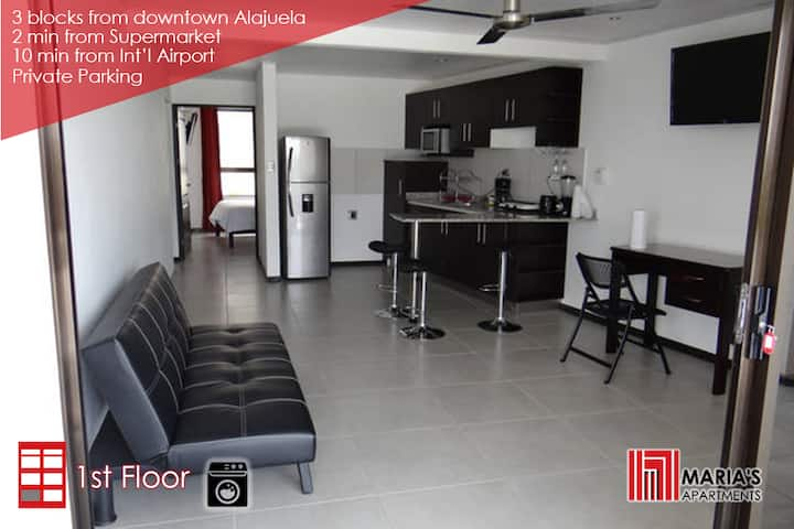 Beautiful apartment in Alajuela downtown 1