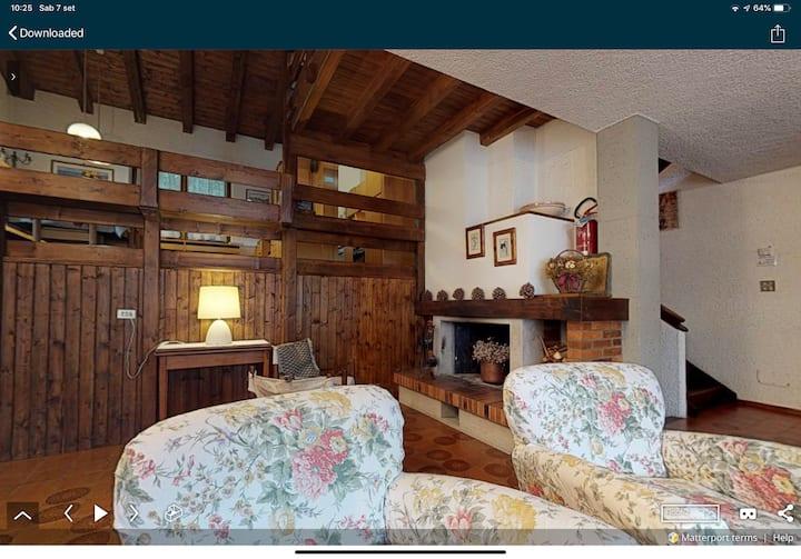 Villa nelle Dolomiti per gli appassionati di sci