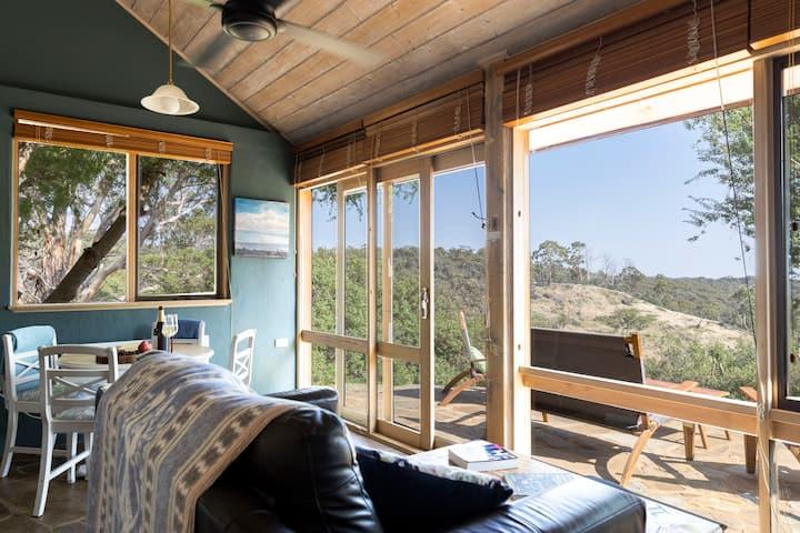 'Audrey's of Hepburn' cottage set in nature