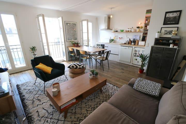 Cosy 45 m2 au cœur de Montmartre - Abbesses