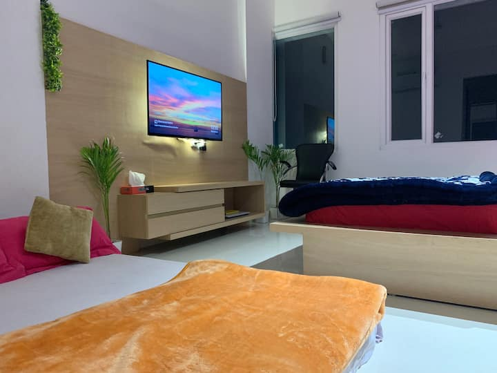 FamilyRooms for 3-❤️UniqueenVilla(HomeStay)Amritsar