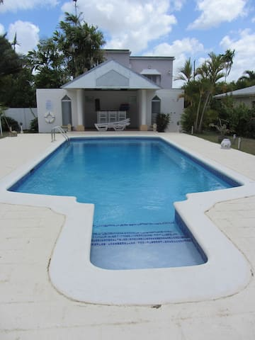 Large 30 foot Swimming Pool