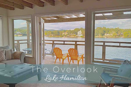 Lake Condo with Huge Views! Pool & Boat Slip!