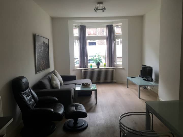 Modern, centrally located and pets friendly.