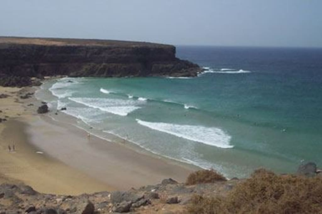 amazing cotillo beach  very near and perfect for long walks, surfing, kite surfing and relaxing
