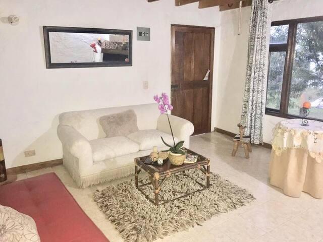 Habitación doble, campestre + Baño privado