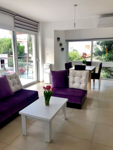 Entire, up to 3-bedroom in heart of North nicosia