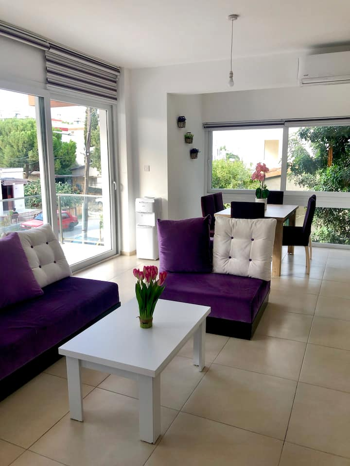 Up to 3-bedroom in heart of North nicosia