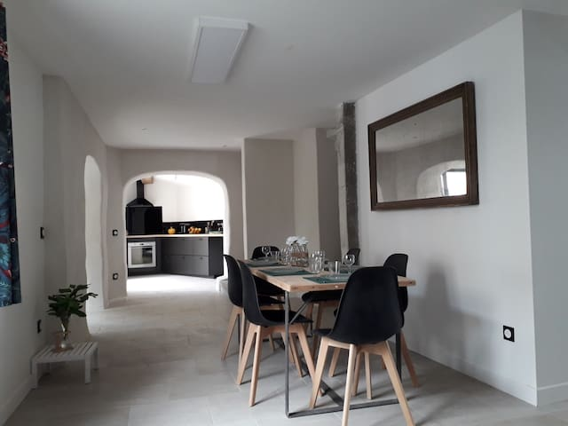 Maison proche de Carcassonne équipée PMR