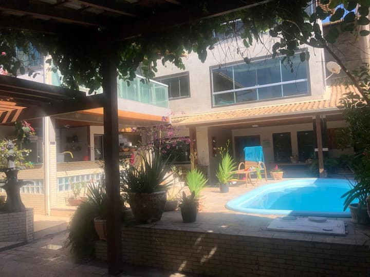 Casa praia D'Ule, piscina, churrasqueira