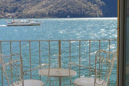 Antico Approdo, on the shore of Lake Lugano