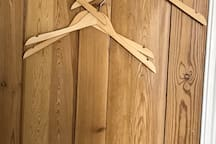 some hangers for your clothes!
