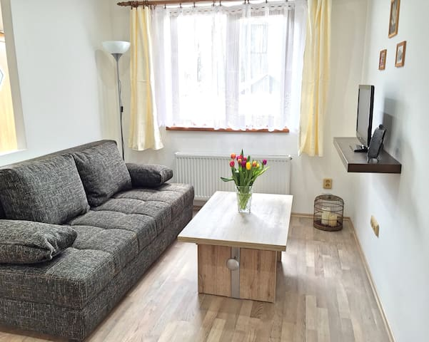 Beautiful, quiet apartment in the Böhm.Switzerland - Bynovec - Pis