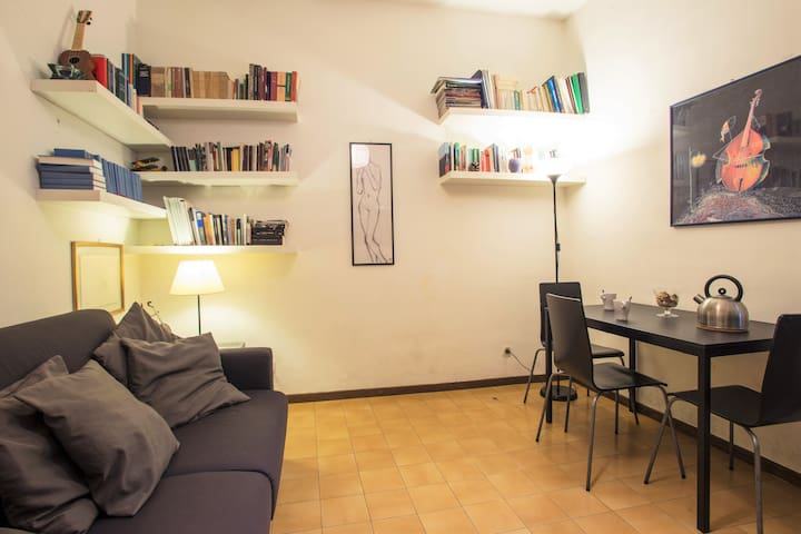 Studio-Apartment at the center