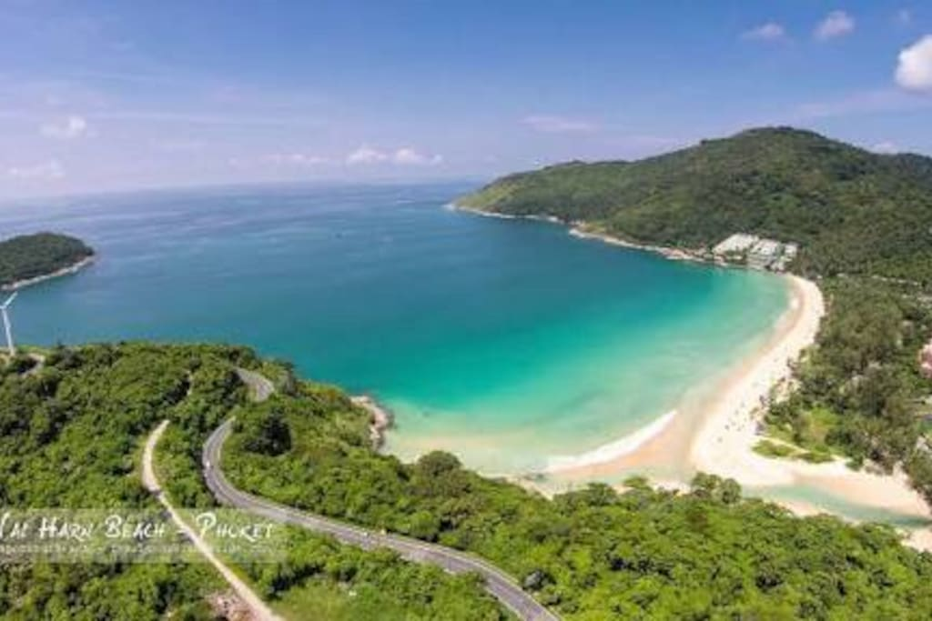 Nai Harn Beach only minutes away, voted one of south east asia best...