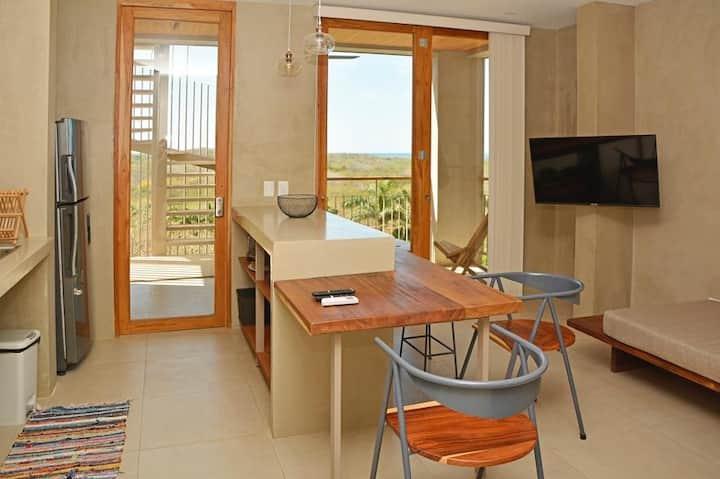 Modern one bedroom ocean-view condo