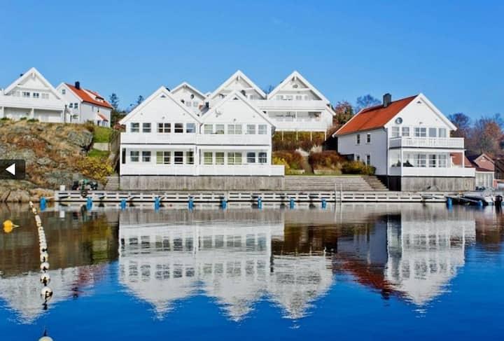 Skjærgårdsveien, Flekkerøy