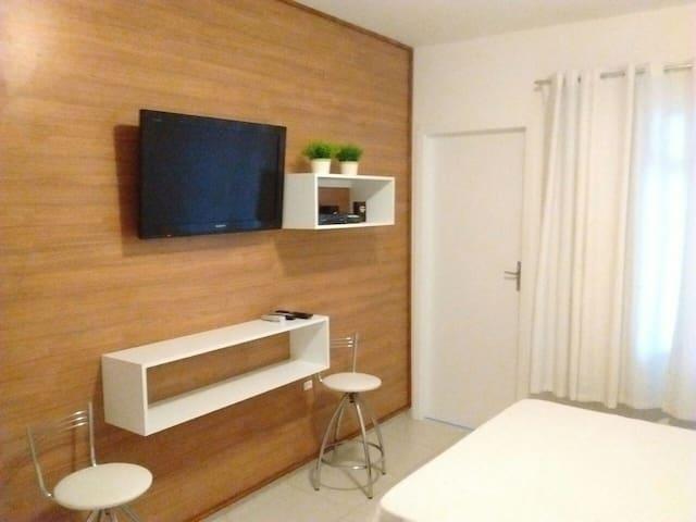Ideal p casal com filhos 1 qd praia - Balneário Camboriú - Appartement