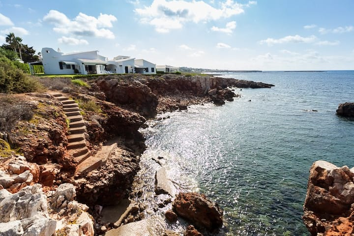 Villa with the sea at your feet, Menorca