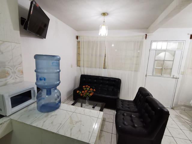 Apartamento acogedor en San Pedro Sac. San Marcos