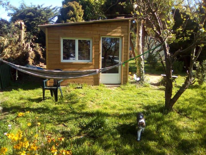 bungalow en pleine campagne