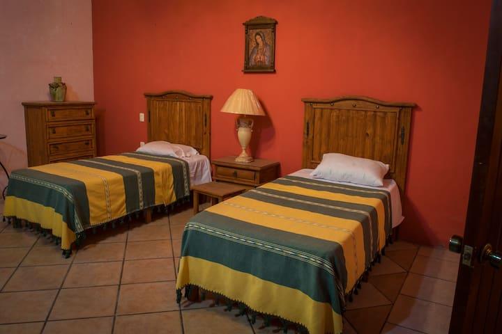 Quinta Valentina - habitación doble individual