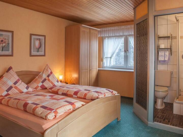 Doppelzimmer Standard im Gästehaus in Valwig