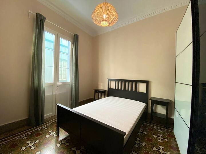 Kolonialstil Wohnung in Vegueta Terrasse & Balkon