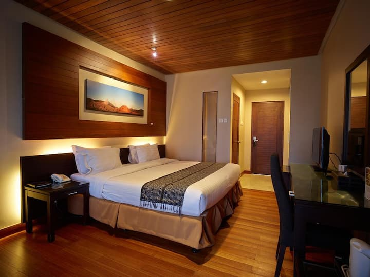Deluxe Double room at Jiwa Jawa Bromo