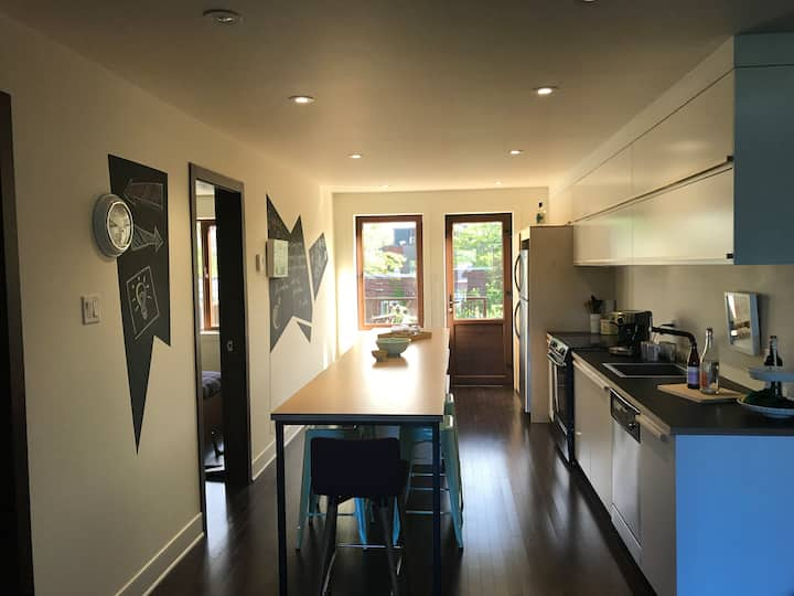 ***ZEN DESIGNED AND WELL LOCATED APARTMENT***