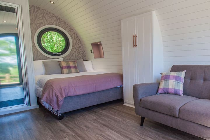 Bluebell Glamping Pod - sleeps 2 | Gold Award winning