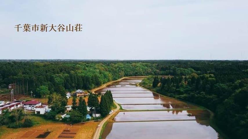 千叶新大谷山庄民宿