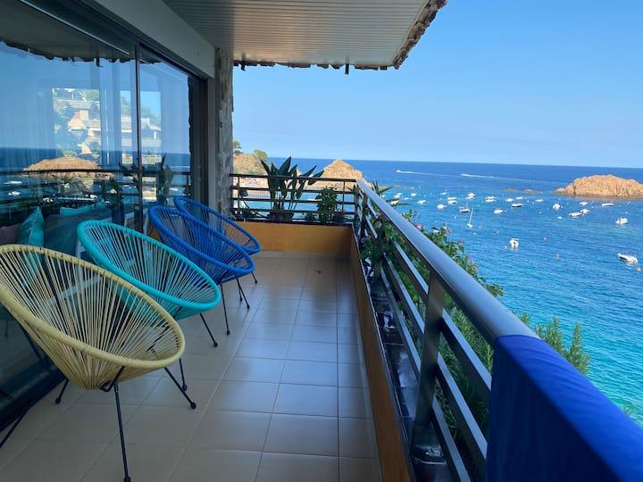 Apartamento exclusivo con vistas al mar