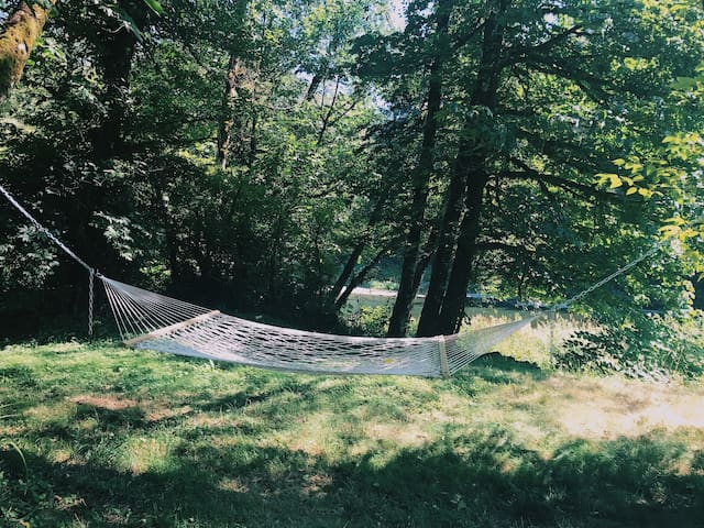 Hammock - the perfect spot to chill on a hot summer afternoon