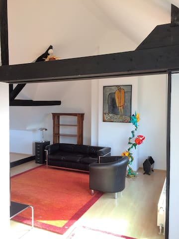 Traumhaftes Maisonette Apartment mit Terrasse - Krefeld - Appartement
