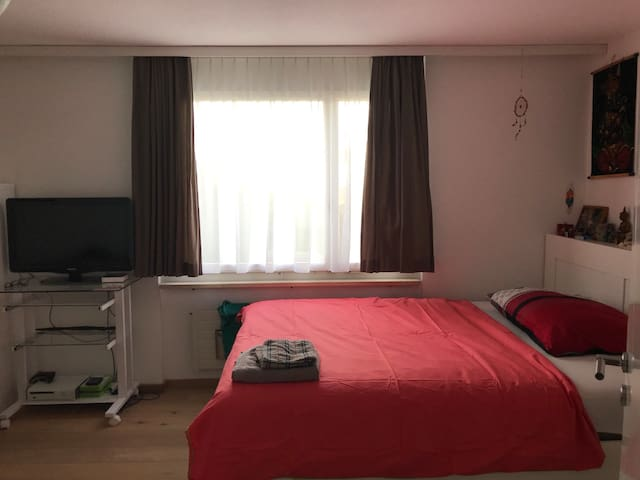 Gästezimmer in schöner 4-1/2 Zimmerwohnung