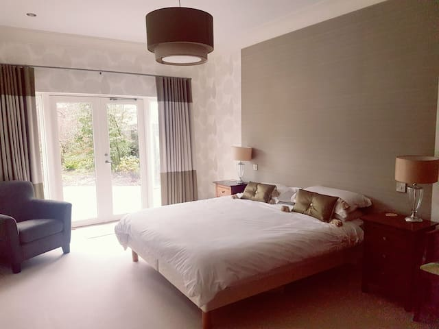 Stunning modern large room with ensuite