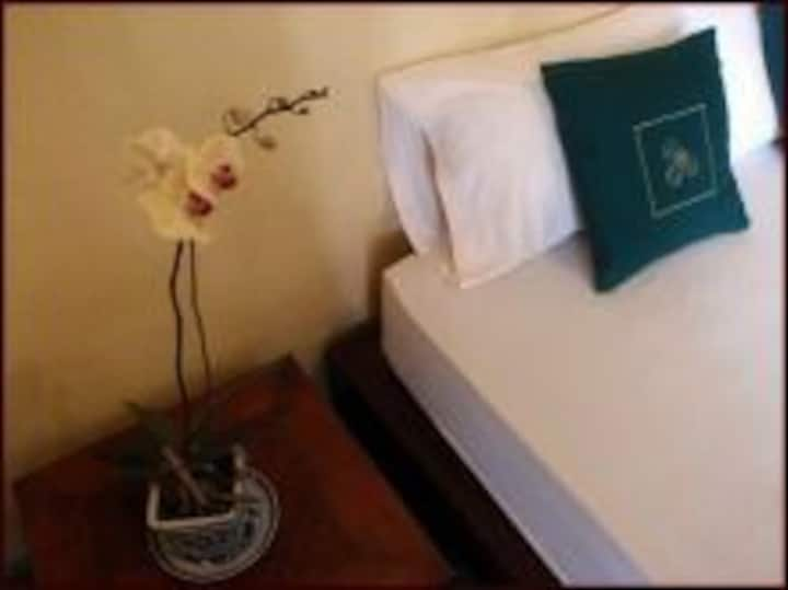Comfortable room next to ricefields and garden