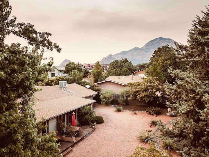 Sedona zen private guest room, private entrance!