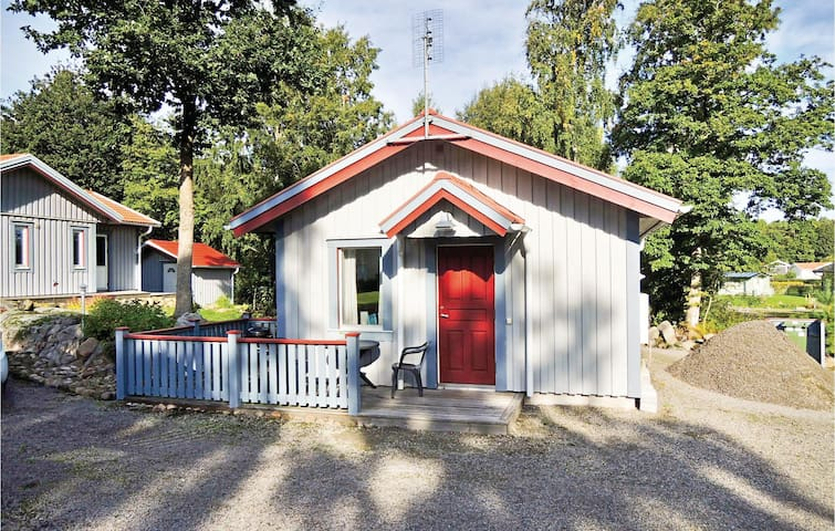 Holiday cottage with 2 bedrooms on 35m² in Heberg