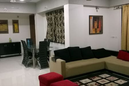 3BHK. 9th floor. Great view. - Pune