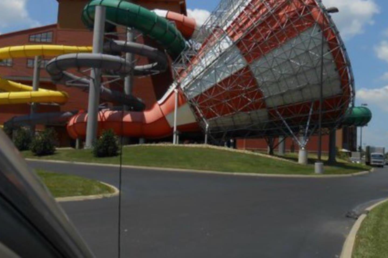 Massive indoor waterpark