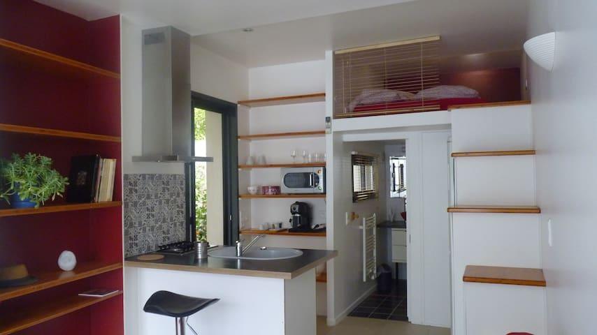 Studio équipé (calme, proche centre ville) - Montpellier - Apartament