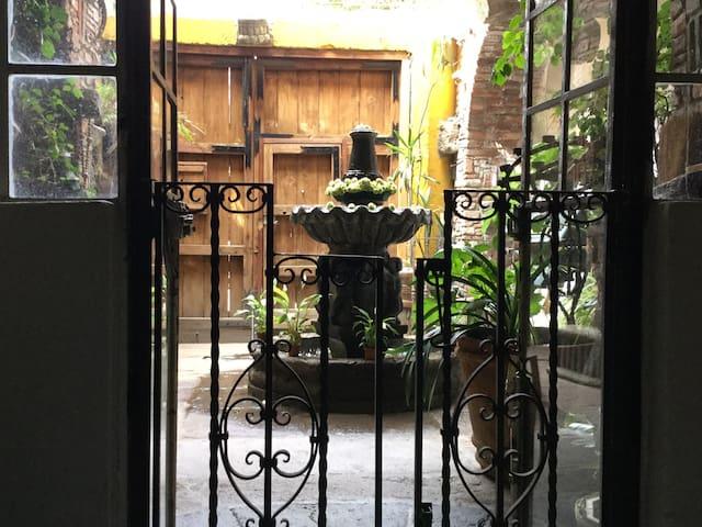 Book´s Nest - Nido del Bibliotecario. Casita - Mexico City - Hus