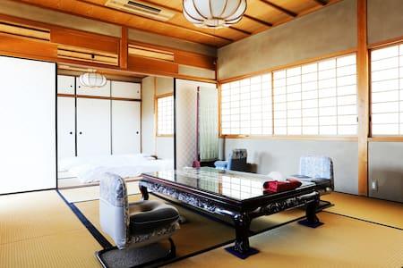 Ryokan style temple! Full renovated  +WiFi+Bikes