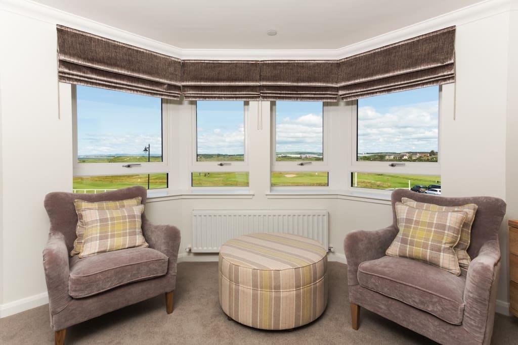 Feature Window overlooking Prestwick Golf Club
