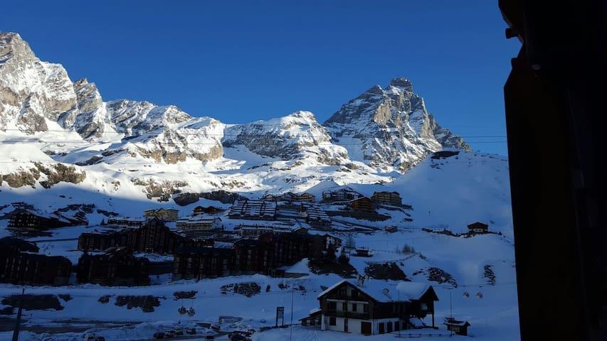 TRILO in CERVINIA on ski slopes! - Breuil-Cervinia - Appartamento