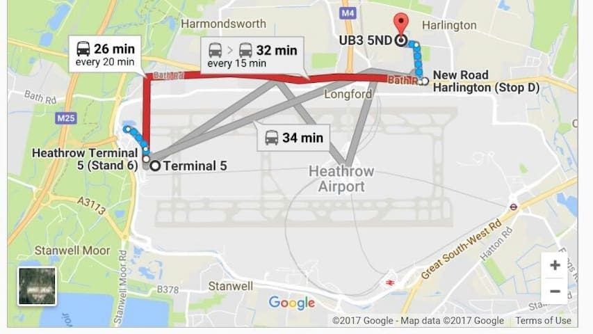 directions from terminal 5